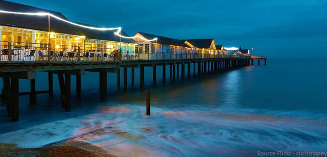 Suffolk, Southwold Pier Beach