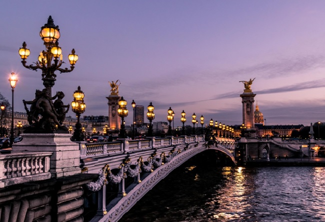 nightview in paris